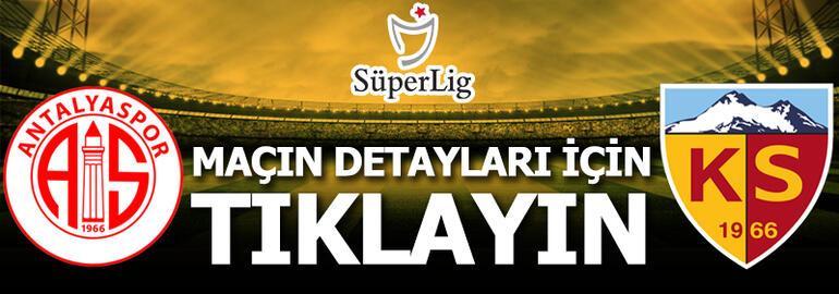 Antalyaspor - Kayserispor: 2-0