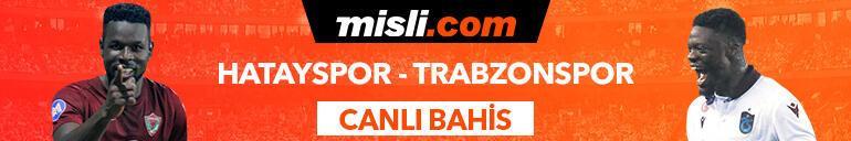 Hatayspor - Trabzonspor maçı Tek Maç ve Canlı Bahis seçenekleriyle Misli.com'da