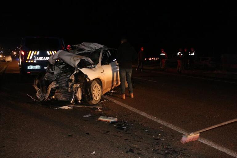Malatyada feci kaza 3 kişi hayatını kaybetti
