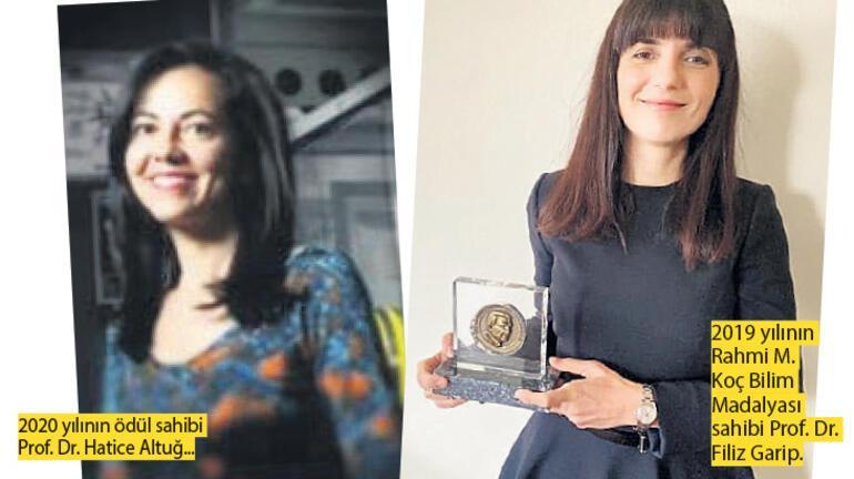 İki kadın bilim insanımıza alkış