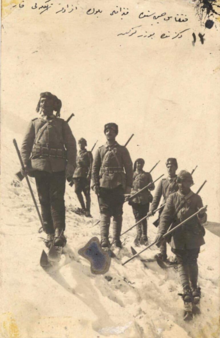 MSB tarihi fotoğrafları paylaştı 1915 Sarıkamış...