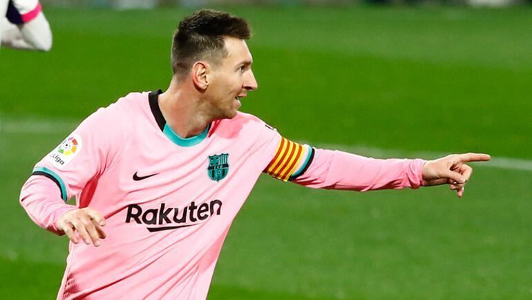 Lionel Messi için unutulmaz bir hatıra