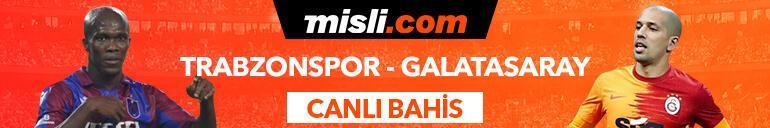 Trabzonspor - Galatasaray maçı Tek Maç ve Canlı Bahis seçenekleriyle Misli.com'da