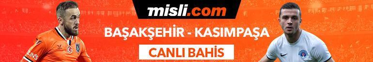 Başakşehir - Kasımpaşa maçı Tek Maç ve Canlı Bahis seçenekleriyle Misli.com'da