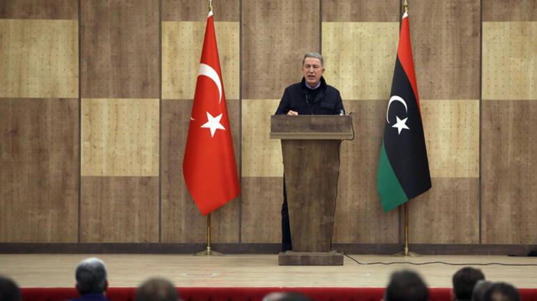 Son dakika... Bakan Akardan net Libya mesajı