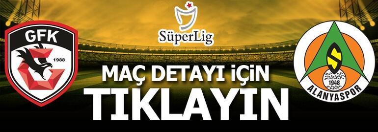 Gaziantep FK-Alanyaspor: 3-1