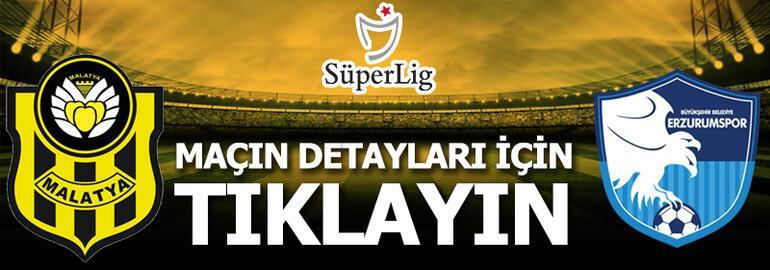 Yeni Malatyaspor - Büyükşehir Belediye Erzurumspor: 1-3