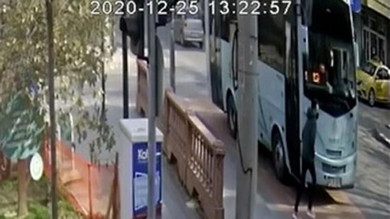 Korkunç kaza halk otobüsü kamerasında