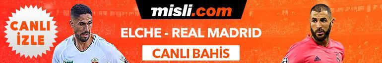 Elche - Real Madrid maçı Tek Maç ve Canlı Bahis seçenekleriyle Misli.com'da