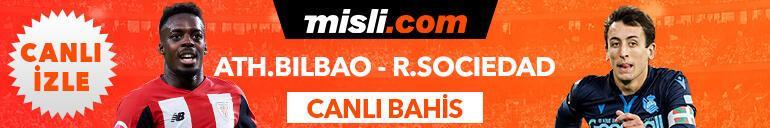 Athletic Bilbao - Real Sociedad maçı Tek Maç ve Canlı Bahis seçenekleriyle Misli.com'da