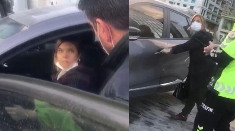 Aracına binerek kaçmaya çalıştı Polis şikayetçi oldu