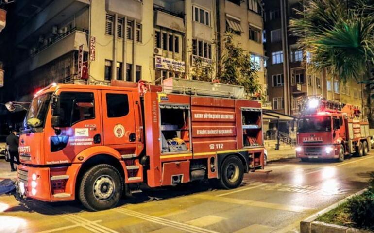 Hatayda korkutan ev yangını