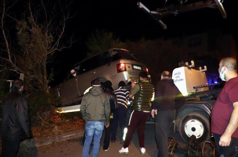 Alkollü sürücü, dün satışa koyduğu cipiyle tarlaya uçtu