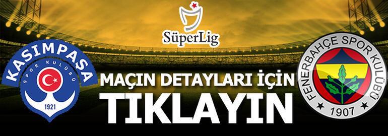 Kasımpaşa - Fenerbahçe: 0-3