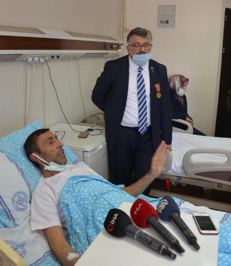 Son dakika Hazar Denizinde rahatsızlanıp, ambulans uçakla alınan TIR şoförü: Ülkem bambaşka