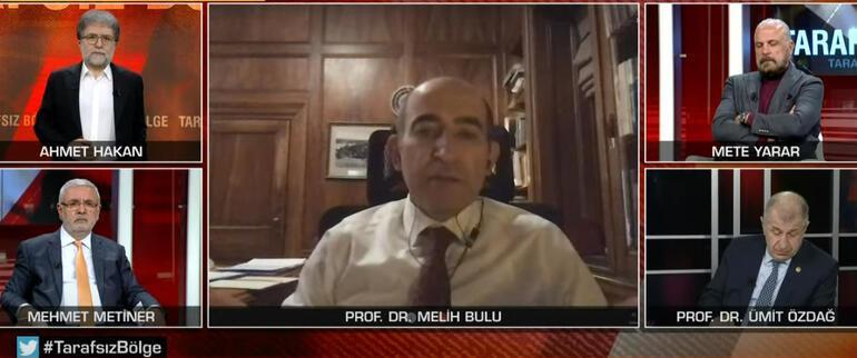 Son dakika... Prof. Dr. Melih Buludan CNN TÜRKte önemli açıklamalar
