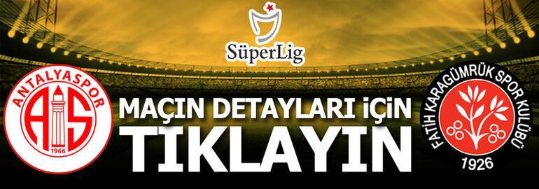 Fraport TAV Antalyaspor - Fatih Karagümrük: 3-1