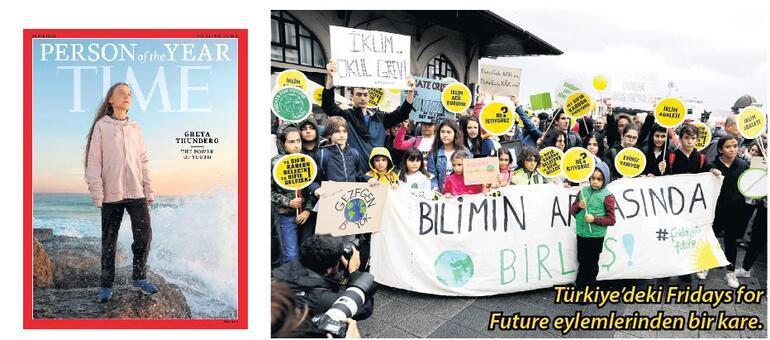 Büyürken iklim mücadelesini büyüttü