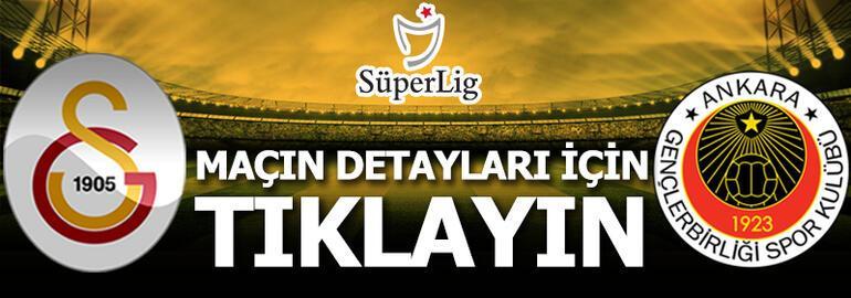 Galatasaray - Gençlerbirliği: 6-0
