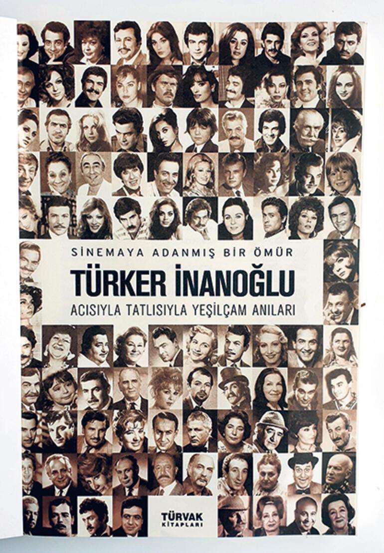 Türker İnanoğlu'nun renkli Yeşilçam anıları