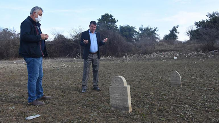 Aylar içinde değişti Bursada mezarlar ortaya çıktı