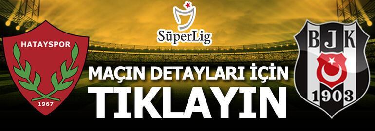 Hatayspor - Beşiktaş: 2-2