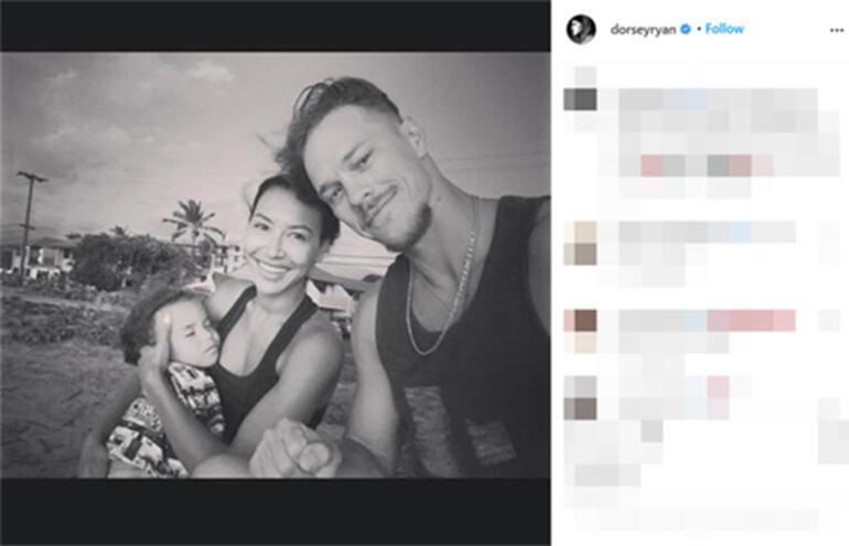 Ryan Dorsey vefat eden eski eşi Naya Riveranın yeni yaşını böyle kutladı