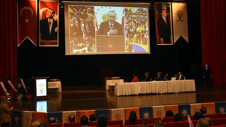 AK Parti Genel Başkan Yardımcısı Sarıeroğlu, Kırşehir 7. Olağan İl Kongresinde konuştu