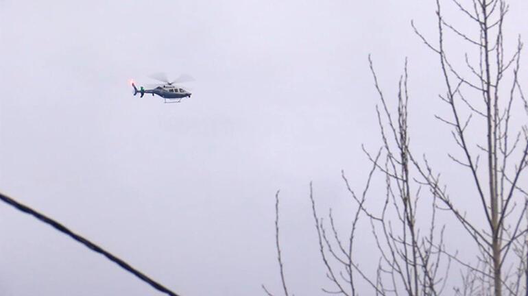 Son dakika: İstanbulda helikopter düştü iddiası