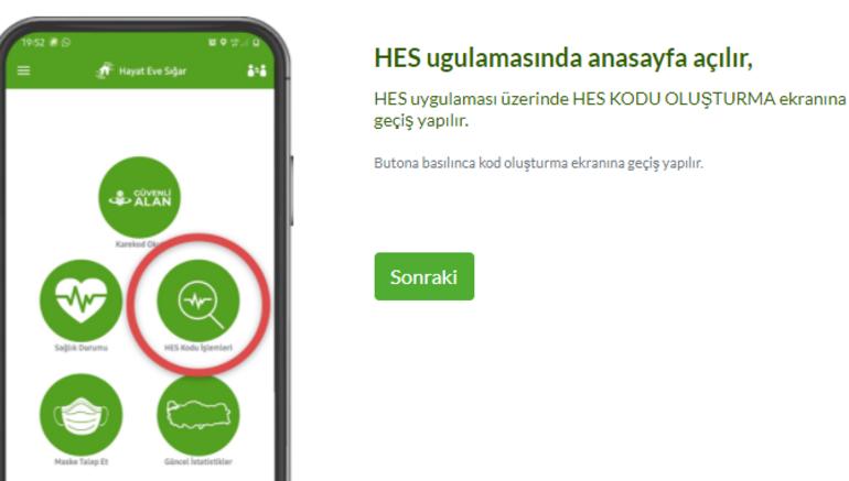 HES Kodu SMS, e-devlet, uygulama ile alma | HES Kodu sorgulama nasıl alınır