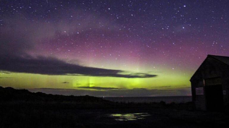 Gökyüzünde görsel şölen Kuzey Işıkları hayran bıraktı...