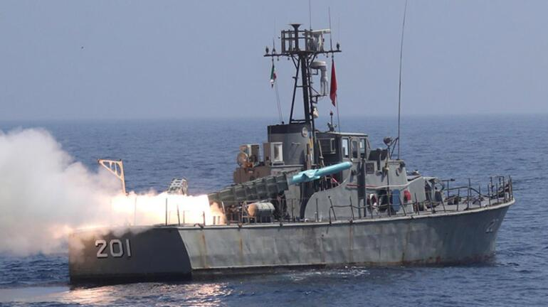 İrandan Hint Okyanusunda gövde gösterisi