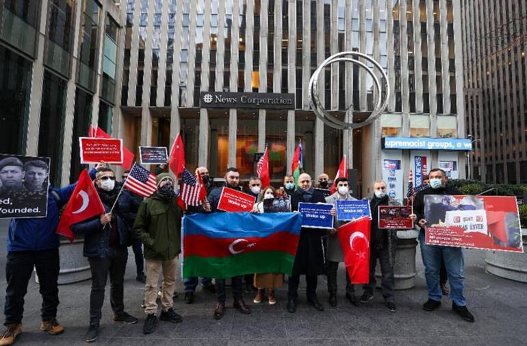 ABDli Türklerden FETÖcü Enes Kanter için Wall Street Journala protesto