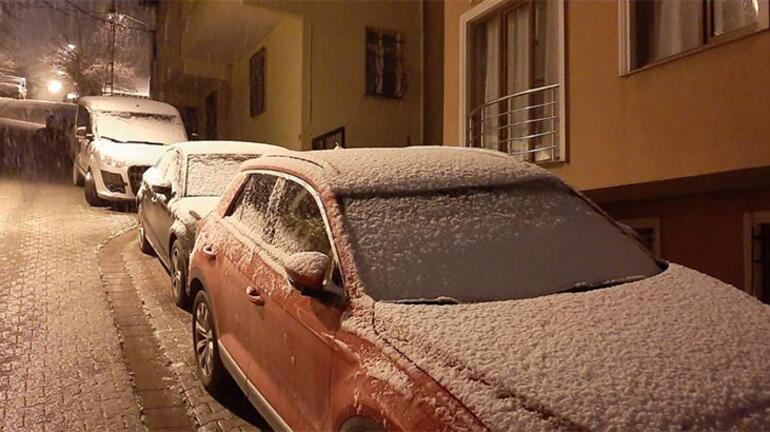 Son Dakika... Uyarılar peş peşe gelmişti İstanbula kar sürprizi