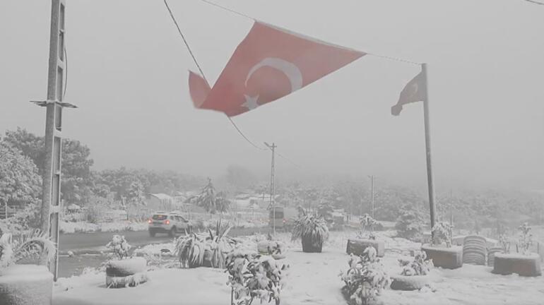 Son dakika hava durumu: İstanbulda kar görüntüleri MGM uyarmıştı...