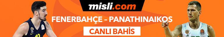 Fenerbahçe Beko-Panathianikos maçı Tek Maç ve Canlı Bahis seçenekleriyle Misli.comda