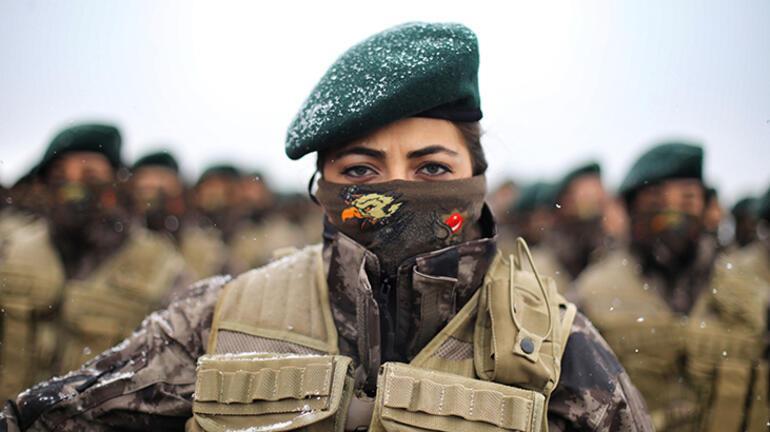 Türkiyede bir ilk Emniyete 500 kadın özel harekâtçı katıldı