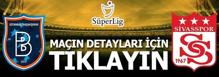 Başakşehir - Sivasspor: 1-1