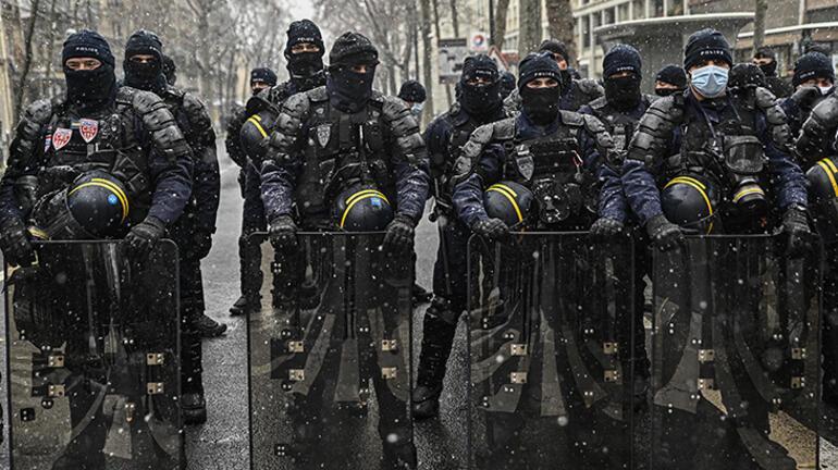 Tansiyon düşmüyor Fransa yangın yerine döndü