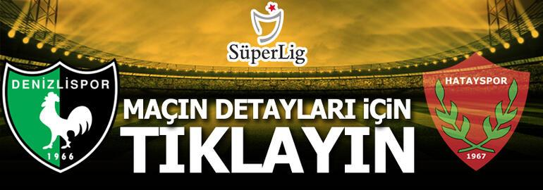 Denizlispor - Hatayspor: 0-2