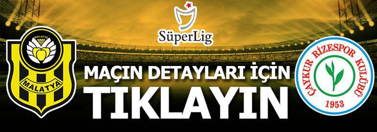 Yeni Malatyaspor-Çaykur Rizespor: 4-1