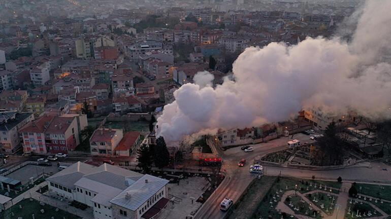 Son dakika...  Edirnede tarihi İl Müftülük binası yandı Kapsamlı soruşturma başlatıldı