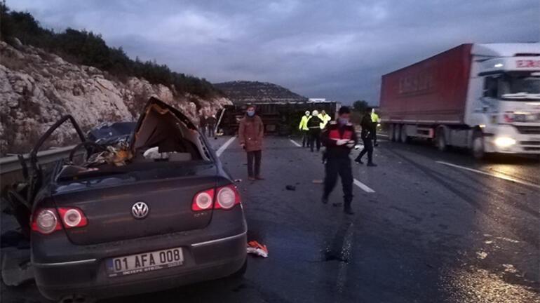 Son dakika... Pozantı-Ankara otoyolunda feci kaza Çok sayıda ölü var