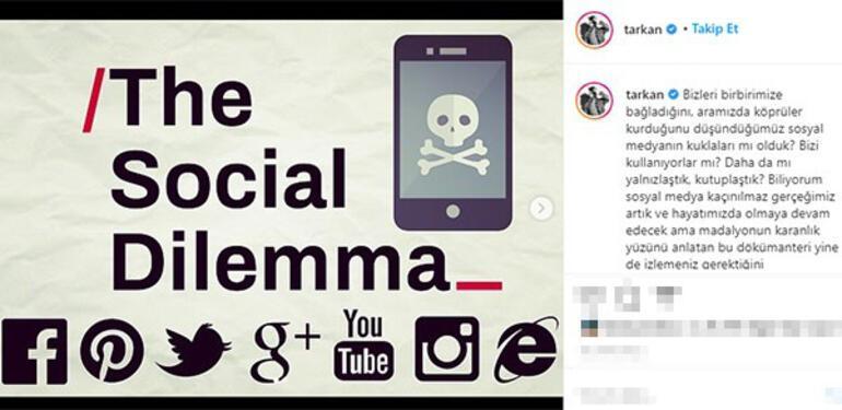 Tarkandan sosyal medya uyarısı