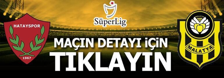 Atakaş Hatayspor - Yeni Malatyaspor: 1-2