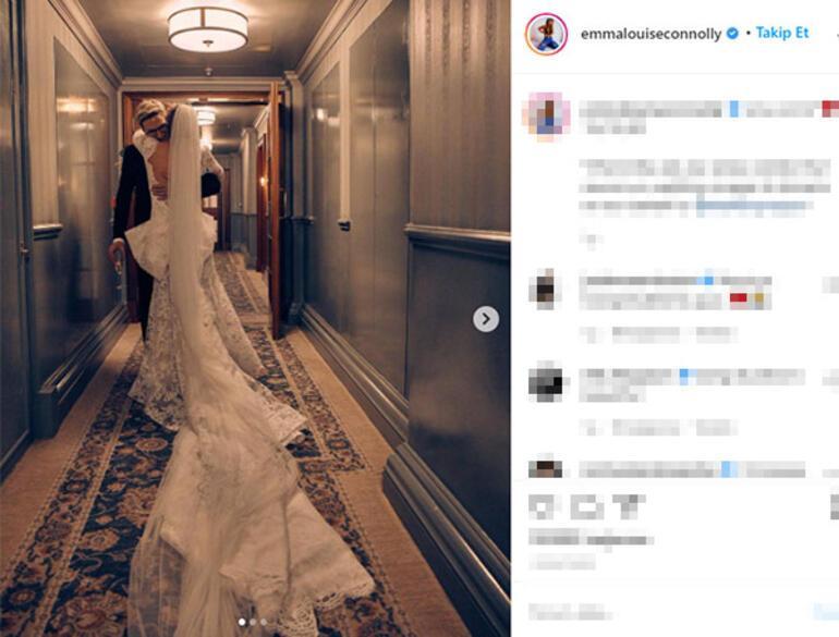 Olivier Proudlock ile Emma Louise Connolly evlendi