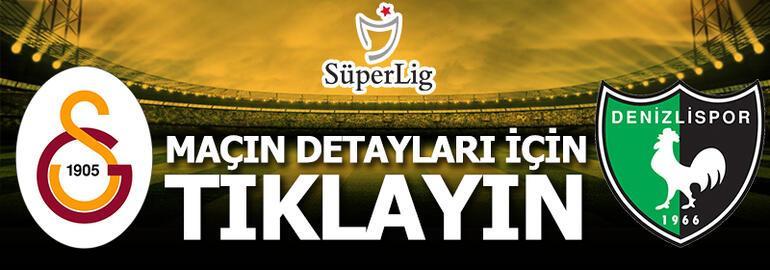 Galatasaray-Denizlispor: 6-1