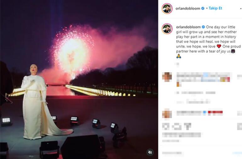 Orlando Bloomdan Katy Perrye: Bir gün kızımız da görecek
