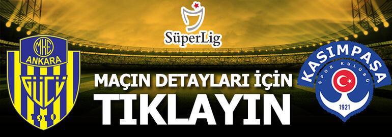 Ankaragücü - Kasımpaşa: 1-0