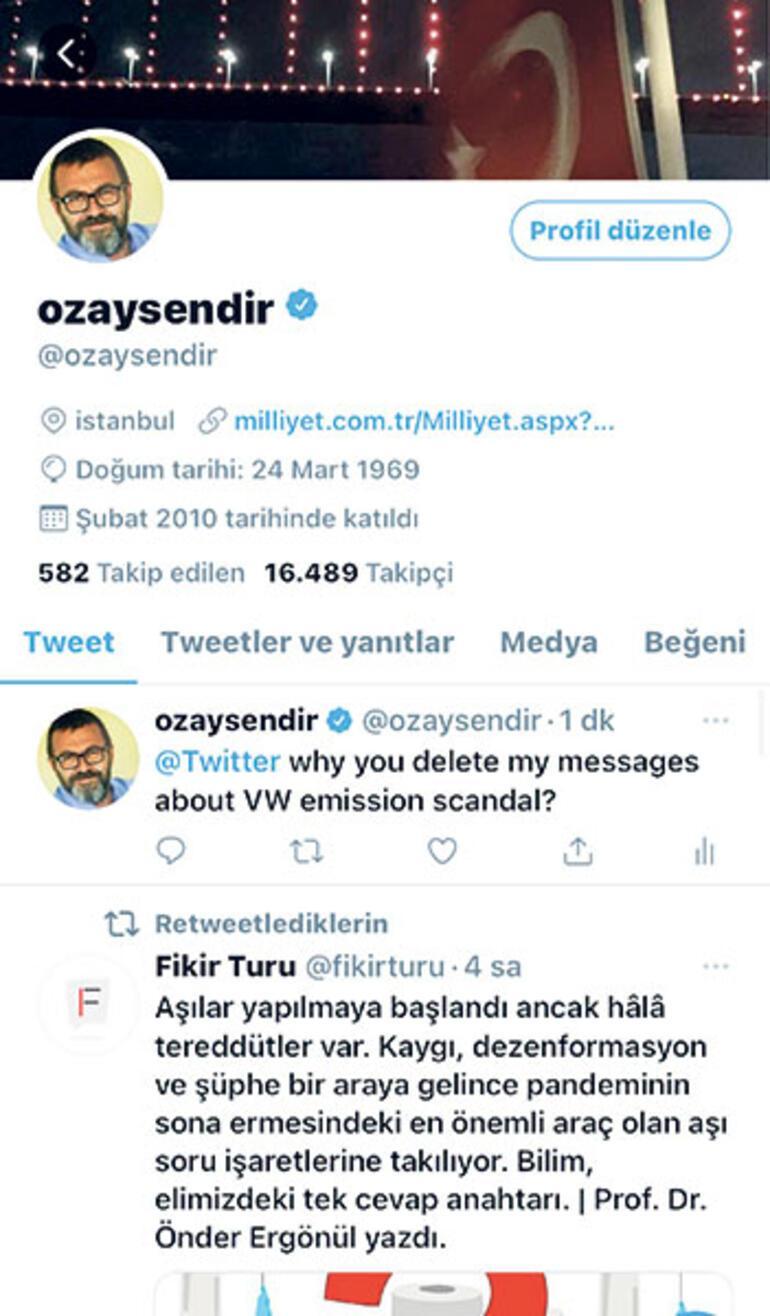 Twitter'da parayı veren için üstü kapalı sansür